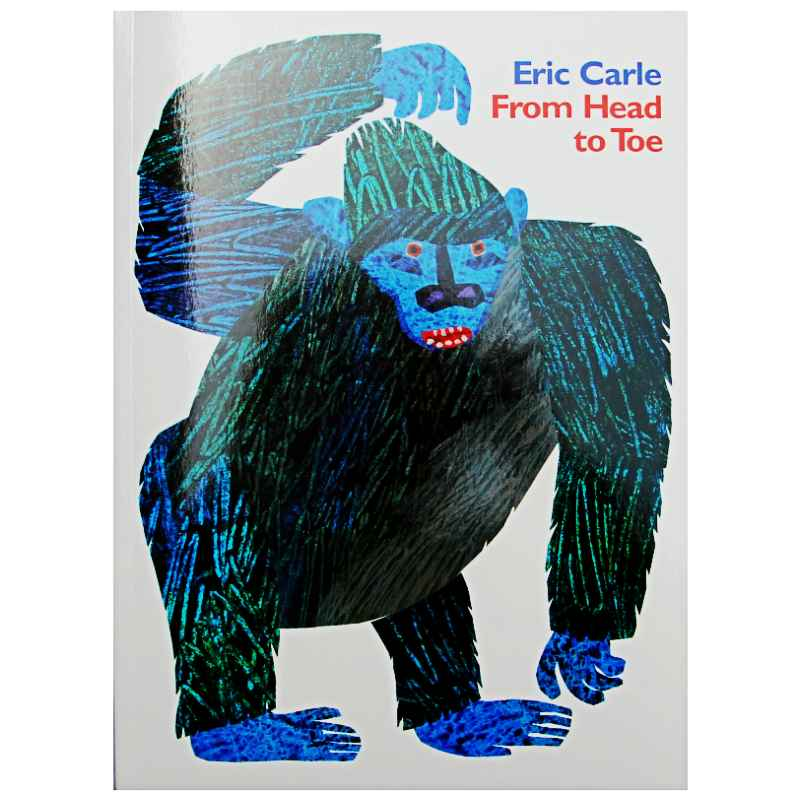 From Head To Toe By Eric Carle Educational English Picture Book Learning Card Story Book For Baby Kids Children Gifts