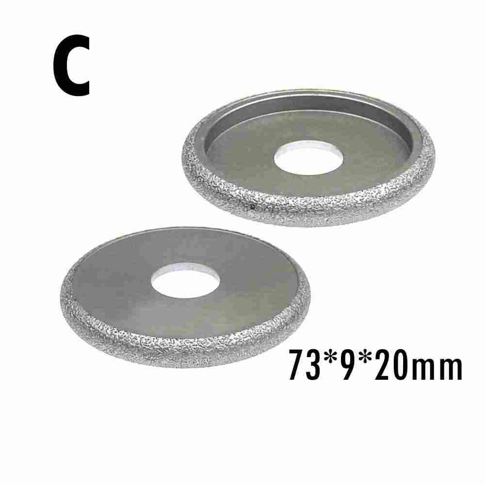 3 Inch Brazed Diamond Grinding Profile Wheel Angle Grinder for Stone Marble Side