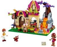 BELA 10412 Mädchen Freunde Elfen Azari und Die Magische Bäckerei Bausteine Bricks Montage Spielzeug 41074 Kompatibel mit Legoe