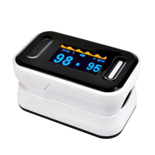 TOP Sale lOximetro Pulse Oximeter Fingertip Pulsioximetro Heart Rate Monitor OLED Display Blood Oxygen Blood Oxygen Saturation