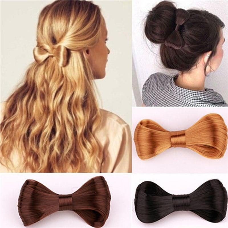 LNRRABC Fashion Women Hair Clips Lady Girls Big Bow Ties Wig Hairpin Headwear Hair Bow Clips Hair Decorations Accessories ...