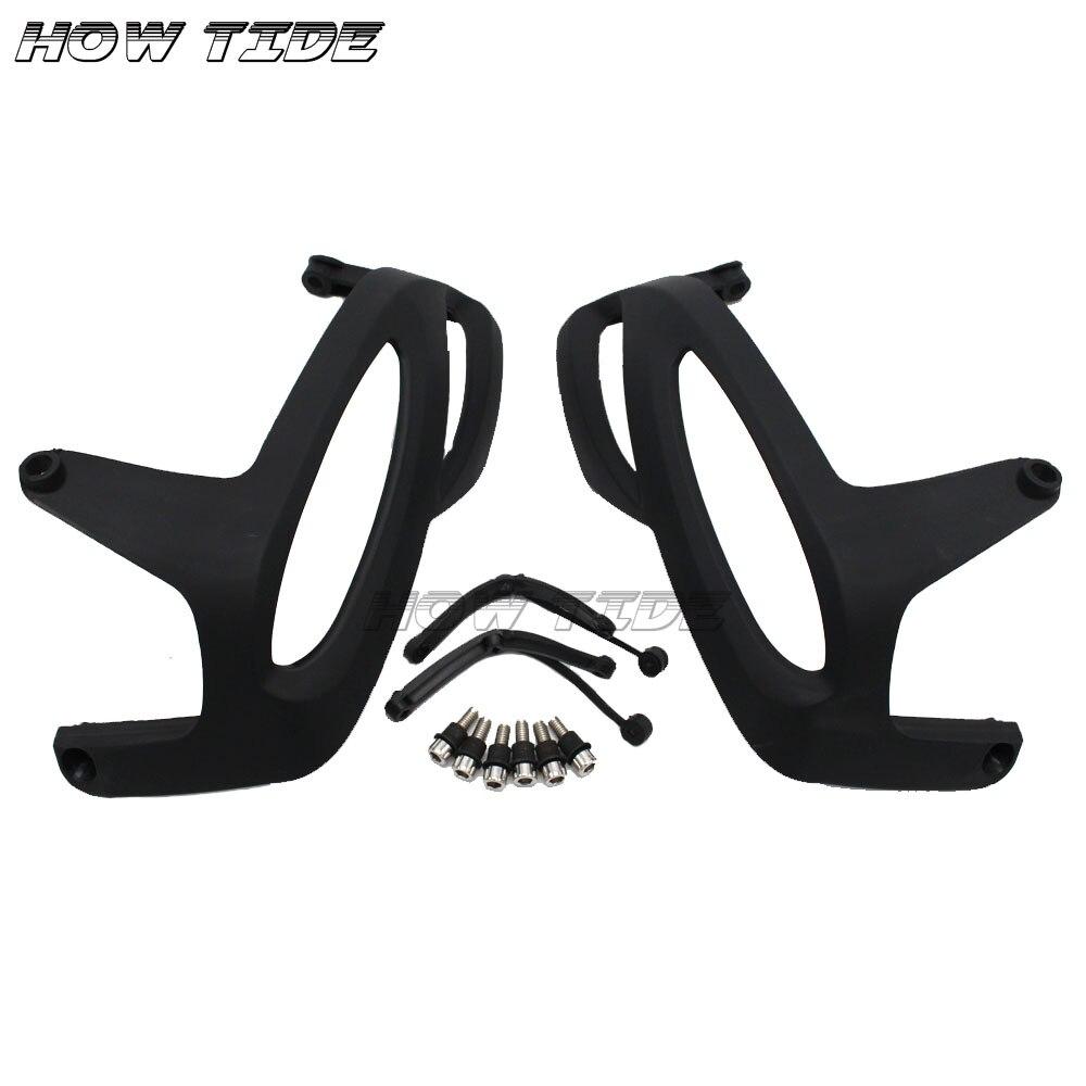 Motor Zylinder Kopf Schutzfolie Seite Rahmen Abdeckung w/Mount Kits für BMW R1200RT RT1200 R1200GS GS1200 R1200R R1200S r1200ST