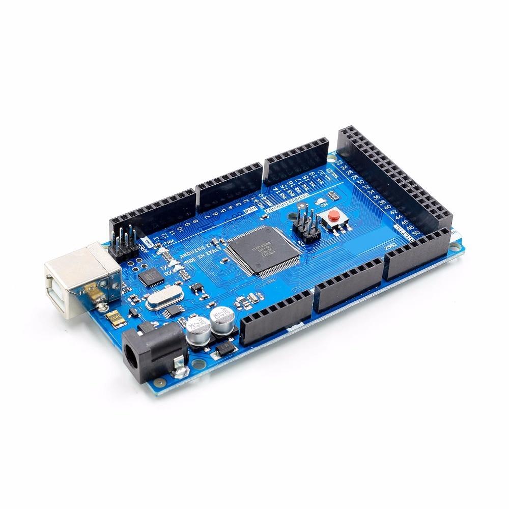 1pcs MEGA 2560 R3 ATMEGA16U2 ATMEGA2560-16AU Board USB Cable For