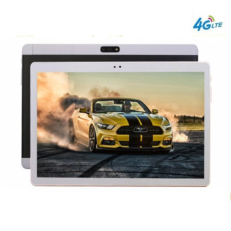 Livraison gratuite les tablettes 10 Android 9.0 10 Core 128 GB ROM tablette 10.1 pouces sim PC Google GPS bluetooth téléphone Mobile 4G LTE 8MP