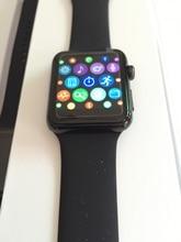 Iwo 2 iwo 1:1 smart watch w51 ip65กันน้ำบลูทูธไร้สายชาร์จคริสตัลแซฟไฟร์werableอุปกรณ์pk lacrosteนาฬิกาa1