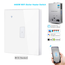 Smart Life WiFi Boiler Switch 4400W Water Heater timer control switch Voice Control Compatible Google Alexa iFTTT