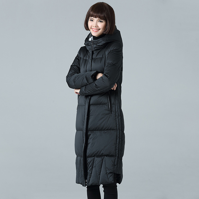 b67a745376624 Women Jacket with Hooded Down Winter Warmer Cloak Coat Womens Puffer  Designers Cape Long Duck Woman Girl Unif Coats and Jackets-in Wool   Blends  from ...