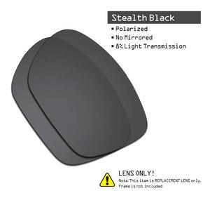 Image 2 - SmartVLT 3 זוגות מקוטב משקפי שמש החלפת עדשות עבור אוקלי Twoface XL התגנבות שחור וכסף טיטניום וקרח כחול