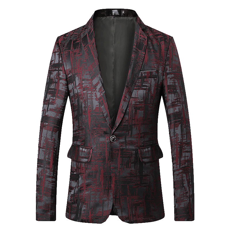 Mens Designer Blazers Jacket Suit 2019 New Single Button Blazer Slim Fit Masculino Plus Size 5xl