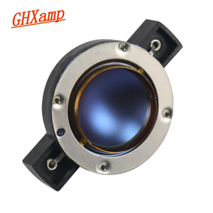 GHXAMP EV32 32MM Tweeter Voice coil Speaker EV DH3 DH2010A 1502 High-end imported pure aluminum flat coil Blue Diaphragm 8ohm(China)