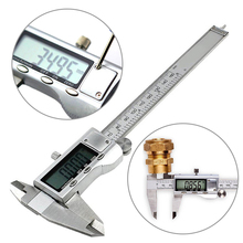 Wholesale prices 0 – 150mm Electronic Micrometer Gauge Stainless Steel Electronic Digital Vernier Caliper Micrometer Vernier Caliper