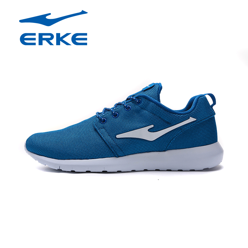 Original ERKE Mens Runners Sports Running Shoes Sneakers For Men Mesh Breathable Running Jogging Shoes Sneaker Man Shoe men running shoes style jogging outdoors adults super light weight sneakers for men air mesh breathable zapatos hombre sports