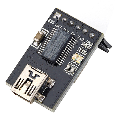 New Basic Breakout USB to TTL Board Module 6 PIN For FTDI Arduino W/ USB Cable