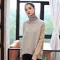 Quintina 2017 New Fashion Women Pullovers Knitting Turtleneck Sweater Thickness Free Size Autumn Women Sweater