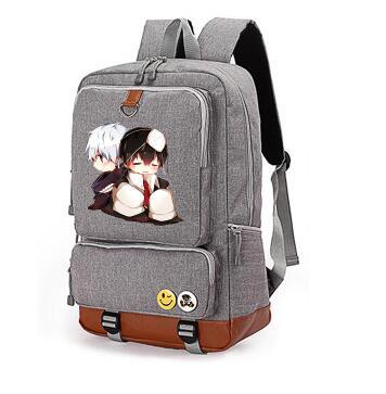 backpacks for teenage tokyo Ghoul canvas backpack Anime Backpack female a bag Satchel rugzak sac a dos anime tokyo ghoul dark in light luminous satchel backpack schoolbag shoulder bag boys gilrs cosplay gifts
