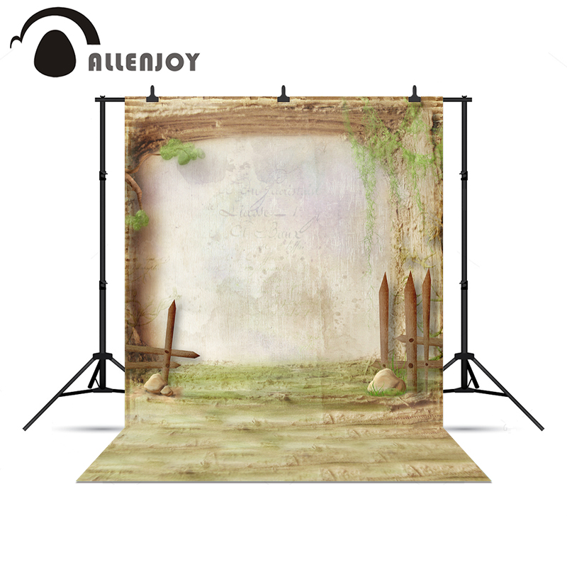 Allenjoy Photo background countryside rural lawn children cute Photophone christmas photo backdrop background vinyl allenjoy backdrop background wonderland