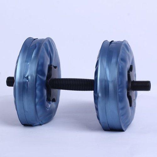 Бодибилдинг Регулируемый воды гантели безопасно женский гантели водой похудеть гантели портативного оборудования - Цвет: Синий