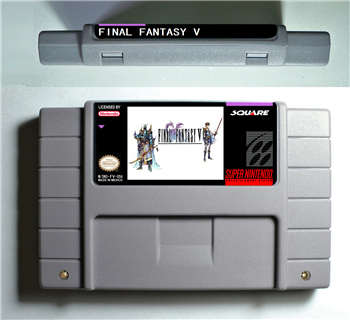 Final Fantasy V 5 - RPG Game Battery Save US Version image