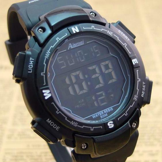 Sports men Boy Digital LED digital Alarm Date Wrist Watch Waterproof Freeshipping&Wholesale 2 colors