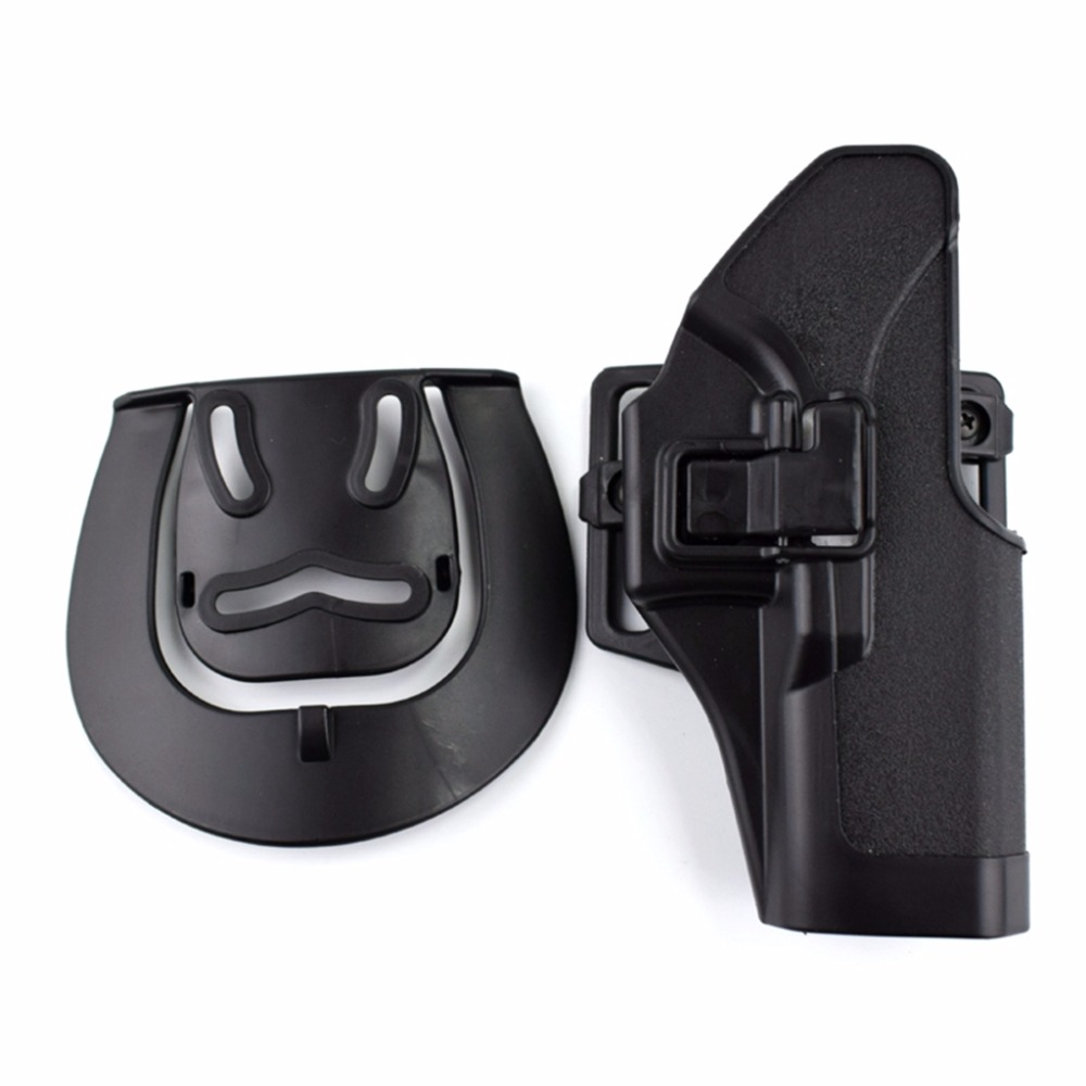 Black Tan Green Tactical Airsoft Pistol Glock Holster Outdoor Hunting Belt Gun Holster For Glock 17 19 22 23 31 in Holsters from Sports Entertainment