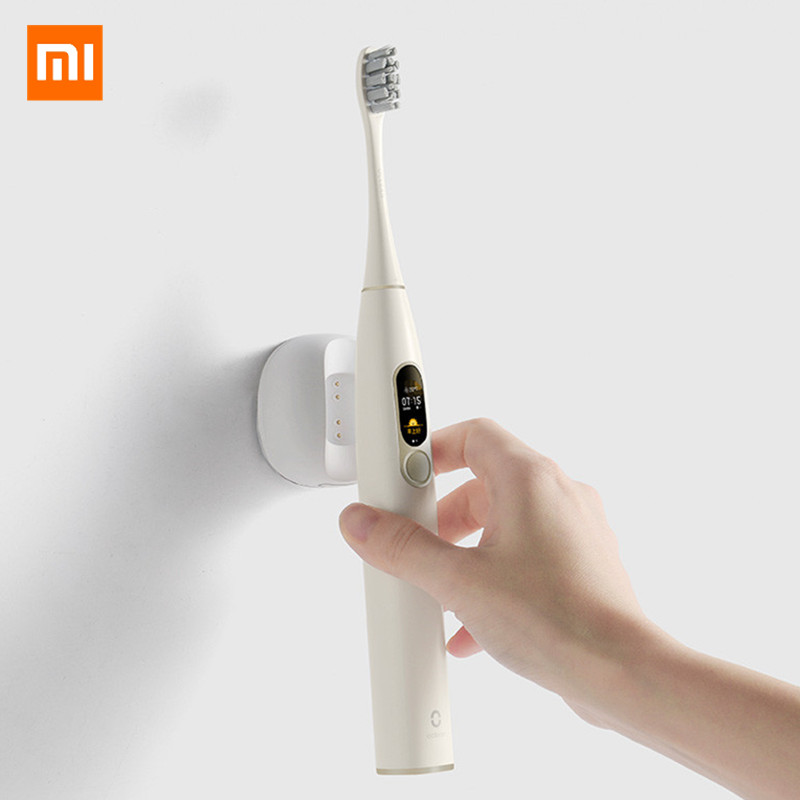 Xiaomi Oclean X Smart Touch Screen Sonic Electric Toothbrush APP Control Waterproof Fast Charging 4 modes