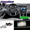 Liandlee Автомобильный задний Интерфейс камеры декодер адаптера наборы для Cadillac SRX XTS CTS ATS CT4 CT5 CT6 обновление системы