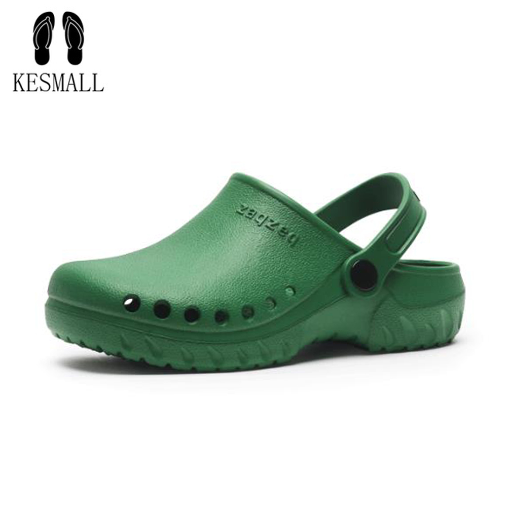 KESMALL Garden Clogs Slippers EVA Casual Beach Sandals For Women Medical Surgical Shoes Slipper Mule Clog Nurse Clogs WS579KESMALL Garden Clogs Slippers EVA Casual Beach Sandals For Women Medical Surgical Shoes Slipper Mule Clog Nurse Clogs WS579