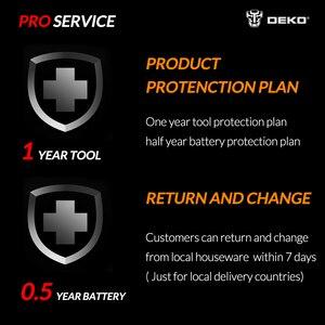 Image 5 - DEKO GJ201 LCD değişken hız döner aracı Dremel tarzı gravür elektrikli Mini matkap değirmeni w/esnek mil Set4