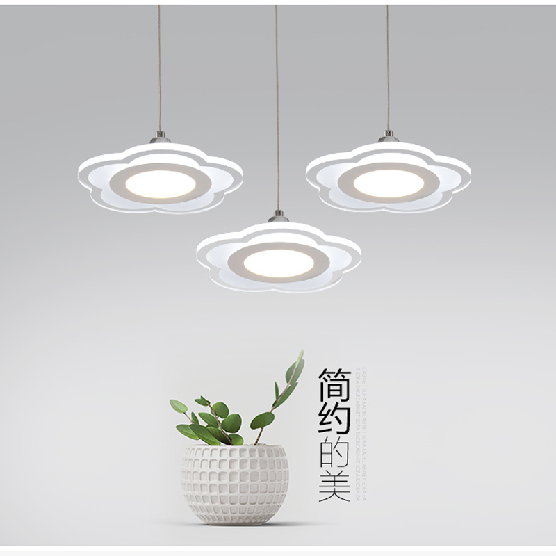 LED personalized circular lighting acrylic restaurant lights modern simple chandelier creative restaurant lights FG131 lo1021 vintage clothing store personalized art chandelier chandelier edison the heavenly maids scatter blossoms tiny cages