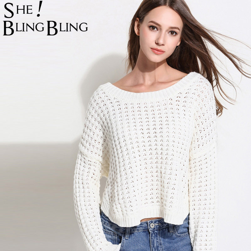 2841b2d77 SheBlingBling Free Size Spring Women Pullover Fashion Long Sleeve Plaid  Textured Drop Shoulder Knit Jumper High Low Hem Sweaters-in Pullovers from  Women s ...