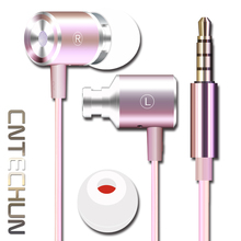 Фотография CNTECHUN ZT-2 In-Ear Earphone Special Edition Clear Bass With Microphone 3.5mm Port 4 Colors