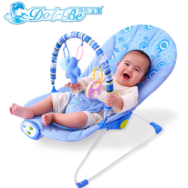 Dolphin baby multifunctional recliner chairs kids cradle swinging cribs for babies bedroom chaise lounge vibration baby shaker-in BouncersJumpers u0026 Swings ...  sc 1 st  AliExpress.com : baby recliner seat - islam-shia.org