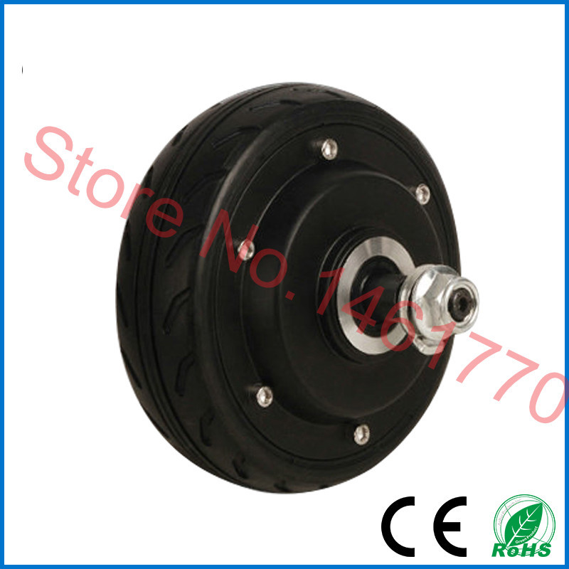 36v 250W 5 hub motor wheel ,electric brake brushless hub motor ,skateboard electric motor sn1516 rab donolux