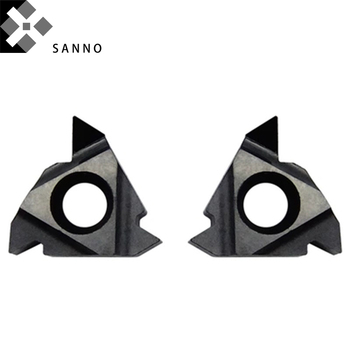 Aluminum processing CNC turning tools inserts 16ER / 16IR AG60 AG55 PDC external internal threading turning blade inserts