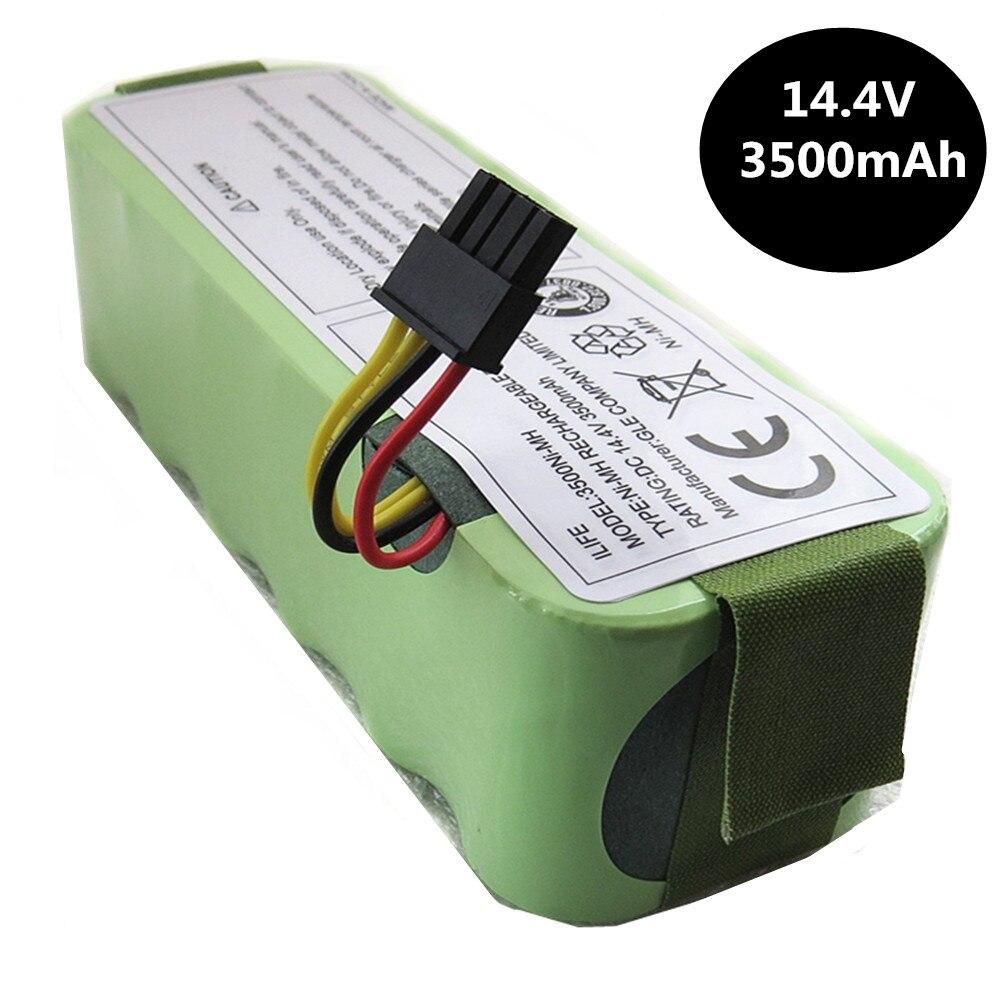 CHAUDE 14.4 v SC 3500 mah NI-MH Rechargeable Aspirateur Batterie pour Ecovacs CR120 Dibea Panda X500 X580 Kk8 Haier robot de balayage