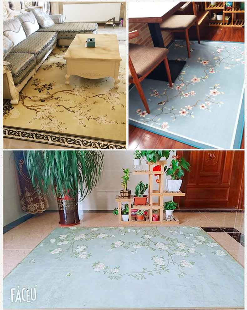 200 300cm Nordic Carpets Kids Room Anti slip Bedroom Carpets Bedside Rugs Soft Child Room Rug Sofa Table Floor Mats Baby Carpets in Carpet from Home Garden