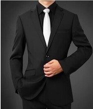 Classics fashion men's wedding suits two buttons slim groom suits elegant men's formal three piece suit (jacket+pants+tie)