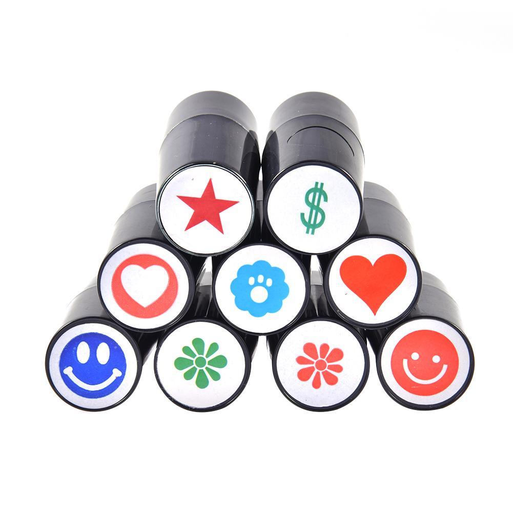 Silicone Quick-dry Plastic Golf Ball Stamper Stamp Marker Impression Seal Golf Club Accessories Symbol Golfer Souvenir Gift