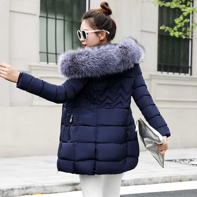 ff10a38b Женские зимние куртки и пальто 2019 парки для женщин 4 цвета ватные куртки  теплая верхняя одежда