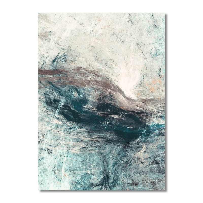 البساطة الحديثة مجردة قماش لوحات وحدات صور جدار الفن قماش لغرفة المعيشة الديكور لا مؤطرة