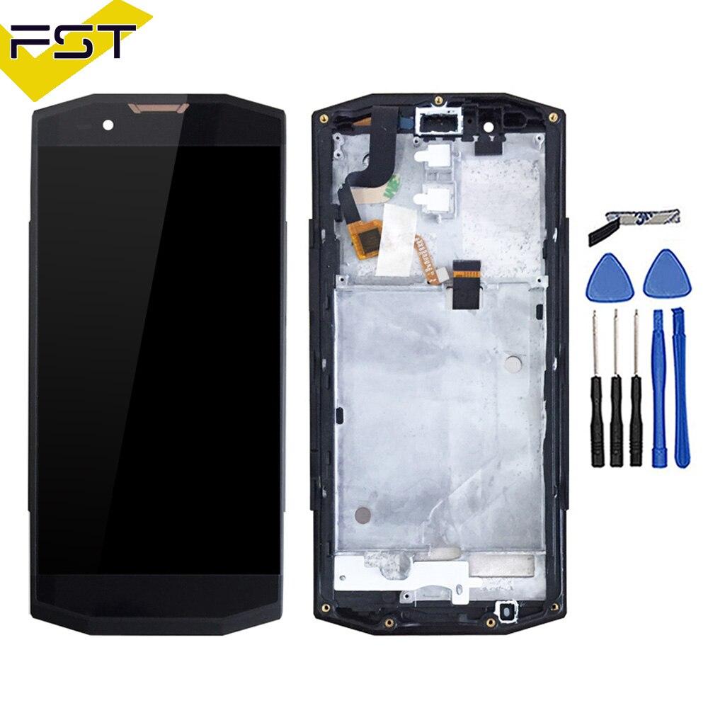 100% протестированный жидкокристаллический дисплей * 1440 720 экран для Blackview BV9000 ЖК-дисплей с сенсорным экраном дигитайзер в сборе с рамкой