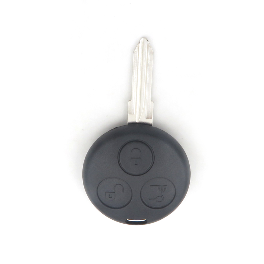 Shell-Case Mercedes-Benz Blade Replacement Remote-Key-Case Smart-Fortwo Auto 3-Button