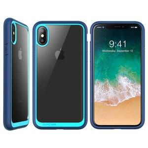 Image 4 - Für iphone Xs Max Fall 6,5 zoll SUPCASE UB Stil Premium Hybrid Schutzhülle Stoßstange + Klar Zurück Abdeckung Für iphone XS Max Fall