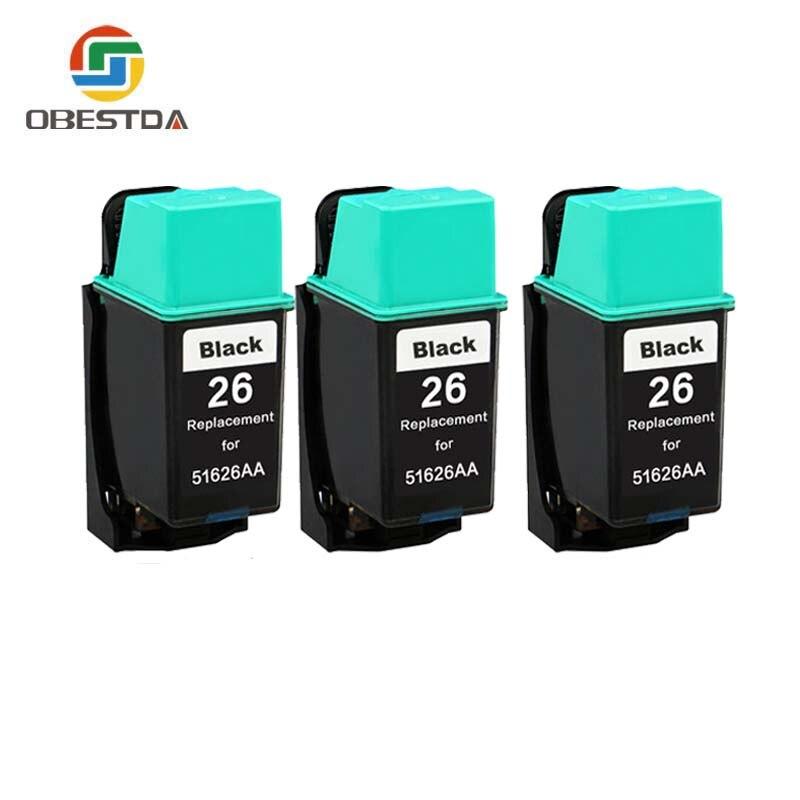 Obestda 51626 Compatible hp printer ink font b cartridge b font 26 for HP Designjet 400
