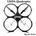 Дрон с дополнительным Камеры HD Высокое Качество 4CH Мультикоптер Udi U819A Безголовый 6 Оси Гироскопа RC Мультикоптер drone VS U818A FSWB
