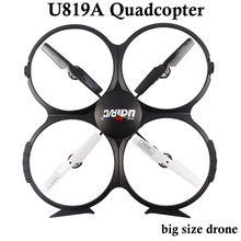 Drone with optional Camera HD High Quality 4CH Quadcopter Udi U819A drone Headless 6 Axis Gyro RC Quadcopter VS U818A FSWB