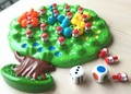 Insects eat Fruit Toys Puzzle race game board game educational  for children