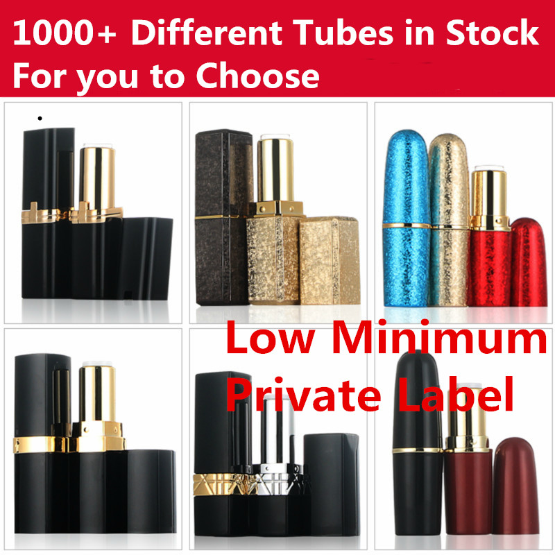 Private Label lipstick have 1000 tubes to choose matte