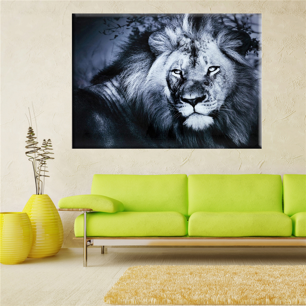 Kings Home Decor: 2017 Lion King Wall Art Oil Painting On Canvas Wall