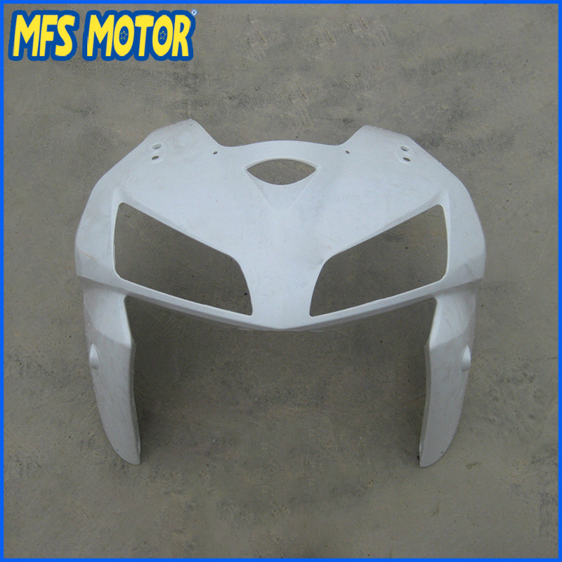 New Upper Fairing Unpainted Front Cowl Head For HONDA 05 06 CBR 600 RR 2005 2006 new upper fairing unpainted front cowl head for honda cbr 250 rr 2011 2012 2013